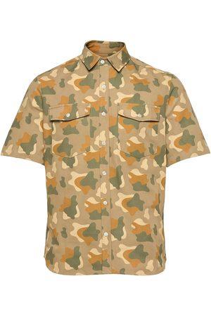 Foret Herre Kortermede - Land Camo Shirt Kortermet Skjorte