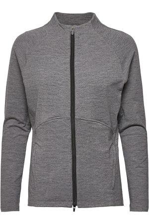 PUMA Dame Jakker - W Cloudspun Full Zip Outerwear Sport Jackets Grå