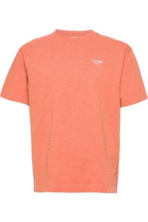 Closed Mens T & Sweat-Shirt T-shirts Short-sleeved Blå
