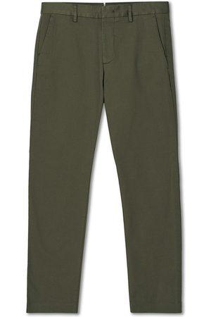 NN.07 Herre Chinos - Theo Regular Fit Stretch Chinos Army Green