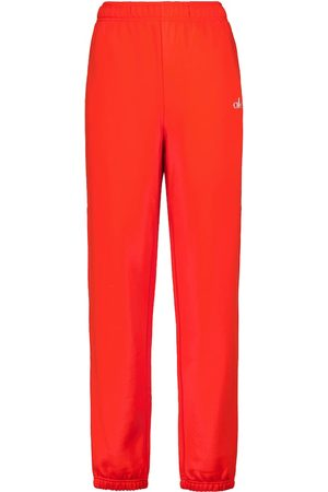 alo Accolade cotton-blend sweatpants