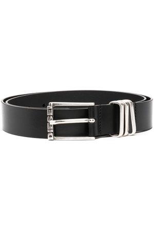 Diesel Herre Belter - B-Tuplo calf leather belt