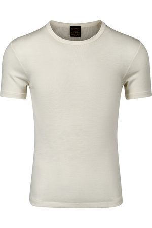 Vera & William Herre Kortermede - T-Shirt Merino Silke