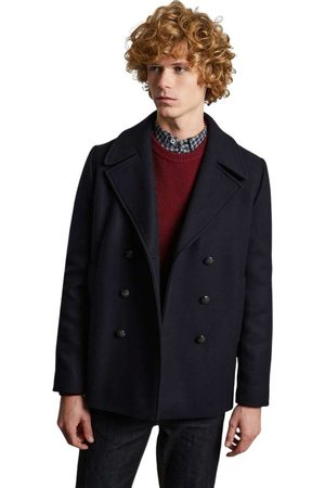 L'exception Paris Made in France wool pea coat