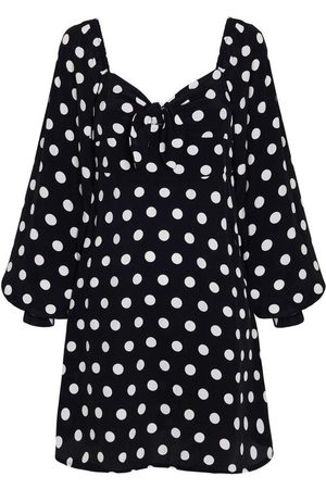 FAITHFULL THE BRAND Dame Mønstrede kjoler - Isobel Mini Dress Emelda Dot Print