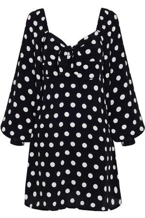 FAITHFULL THE BRAND Isobel Mini Dress Emelda Dot Print