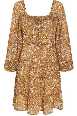FAITHFULL THE BRAND Dame Mønstrede kjoler - Indira Mini Dress - La Medina Paisley Print