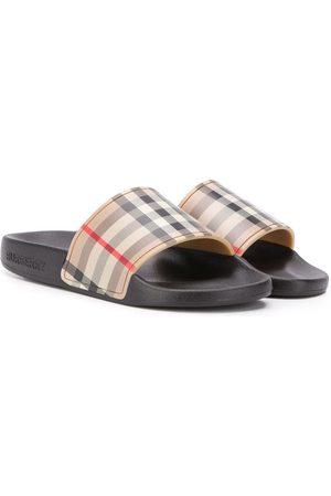 Burberry Gutt Loafers - Vintage Check slides