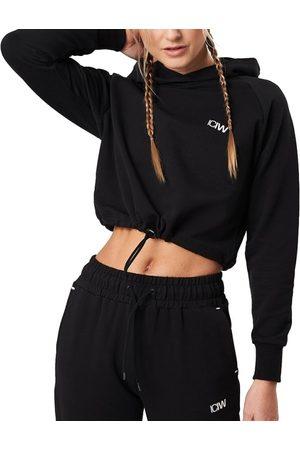 ICANIWILL Dame Hettegensere - Women's Adjustable Cropped Hoodie