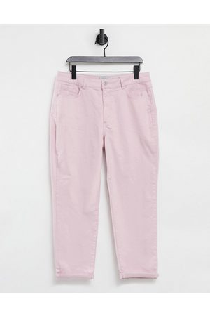 New Look Mom jeans in pastel pink