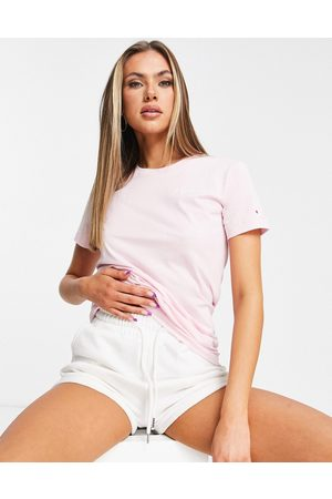 Champion Small logo t-shirt in pink