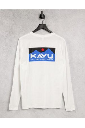 Kavu Klear Above long sleeve t-shirt in white
