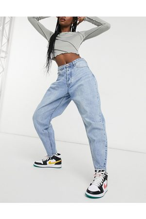 Missguided Tapered jean in light blue