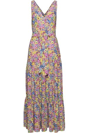 M Missoni Sleeveless Long Dress Maxikjole Festkjole Multi/mønstret