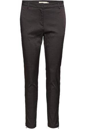 Rabens Saloner Dame Smale bukser - Classic Stretch Relaxed Fit Pa Slimfit Bukser Stoffbukser Rabens Sal R