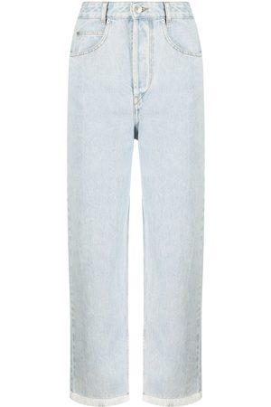 Isabel Marant High-waisted straight leg jeans