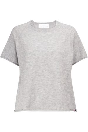 EXTREME CASHMERE N° 177 Todd stretch-cashmere T-shirt