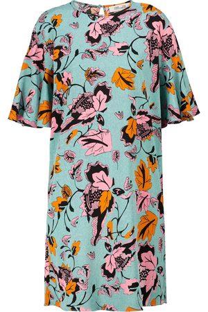 Diane von Furstenberg Arlene printed cady minidress