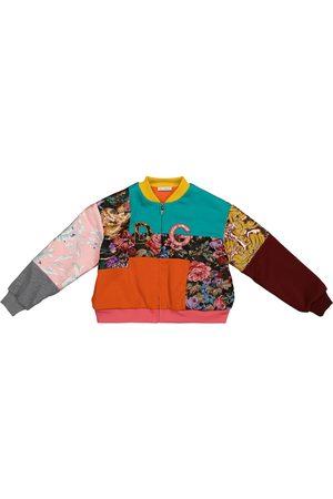 Dolce & Gabbana Patchwork cotton-blend bomber jacket