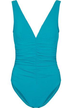 Karla Colletto Basics v-neck swimsuit