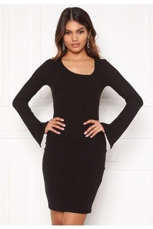 BUBBLEROOM Dame Midikjoler - Mathea dress Black M