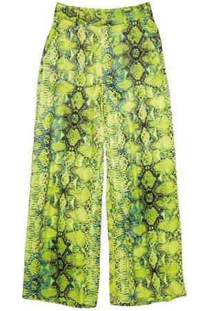 Zoe Karssen Odessa Palazzo Snake Pants
