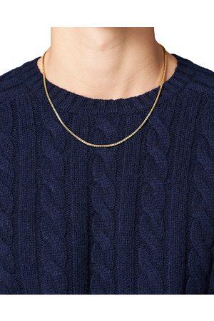 TOM WOOD Herre Halskjeder - Square Chain M Necklace Gold