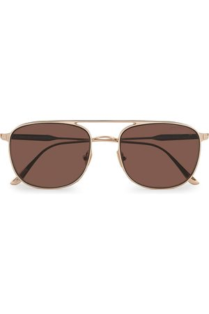 Tom Ford Jake Sunglasses Shiny Rose Gold/Brown