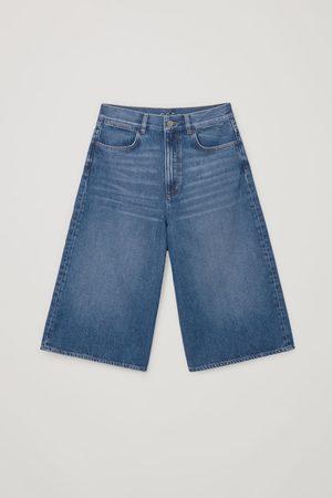 COS Dame Culotte bukser - DENIM CULOTTES