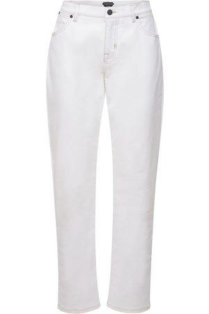 Tom Ford Boyfriend Cotton Denim Stretch Jeans