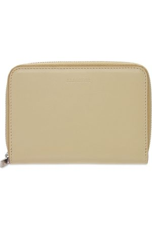 Jil Sander Herre Lommebøker - Leather Zip Around Wallet