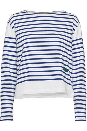 Self Cinema Womens Breton T-shirts & Tops Long-sleeved