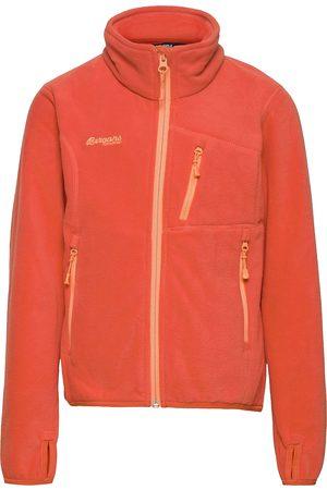 Bergans Jente Fleecejakker - Runde Youth Girl Jkt Outerwear Fleece Outerwear Fleece Jackets