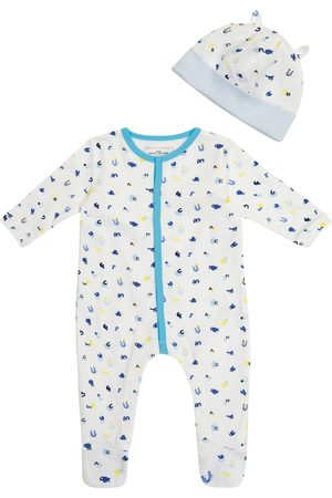 The Marc Jacobs Sett - Baby cotton jersey onesie and hat set
