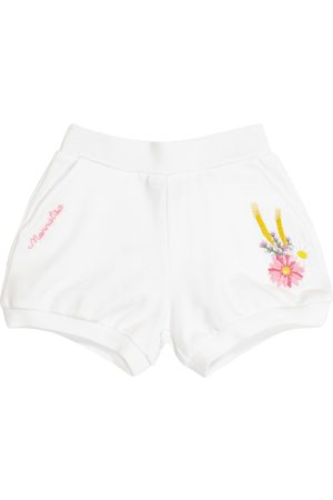 MONNALISA Baby stretch-cotton shorts