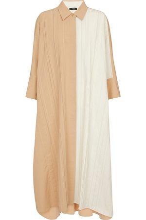 Joseph Dame Hverdagskjoler - Dany cotton and linen shirt dress