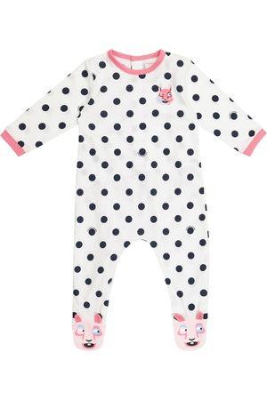 The Marc Jacobs Baby polka-dot cotton jersey bodysuit