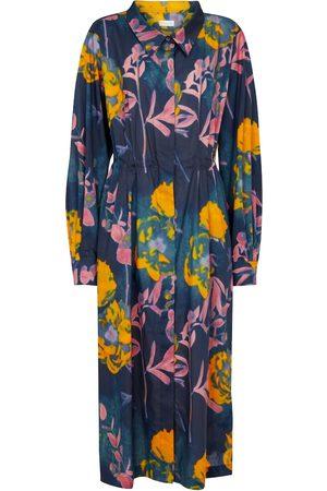 DRIES VAN NOTEN Dame Mønstrede kjoler - Printed cotton midi dress