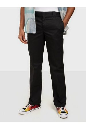 Dickies Herre Smale bukser - Slim Straight Work Pants Bukser Black