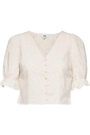 Twist & tango Dame Kortermede - Malin Blouse Blouses Short-sleeved Creme