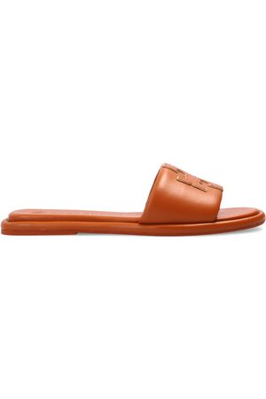 Tory Burch Leather slides with logo