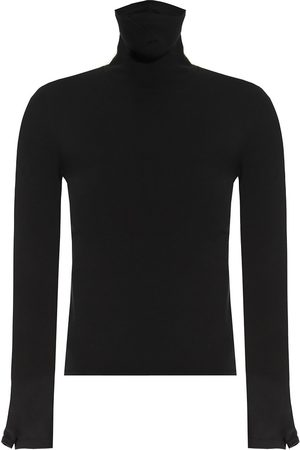 Balenciaga Turtleneck sweater with cut-outs