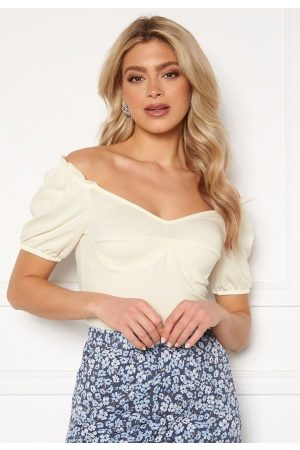 ONLY Dame Topper - Niff S/S Top Cloud Dancer S