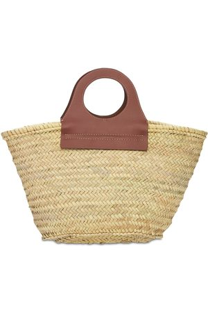 Hereu Cabas Handwoven Straw Basket Bag