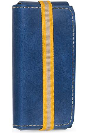 EIGHT & BOB Herre Parfymer - Perfume Leather Case Navy Blue