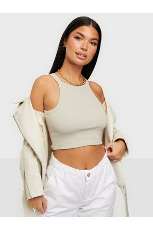 NLY Trend Dame Singleter - High Neck Crop Top