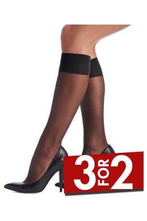Oroblu Dame Tights & Strømpebukser - Mi-Bas Jeune 20 Sheer Knee-Highs * Fri Frakt