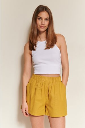 NA-KD Dame Shorts - Linshorts