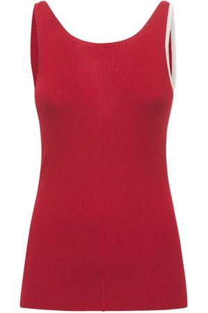 Peter Do Maggie Viscose Knit Tank Top