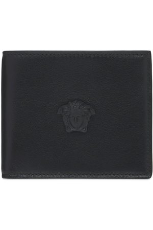 VERSACE Leather Billfold Wallet